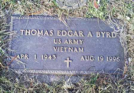 BYRD, THOMAS EDGAR A. - Ross County, Ohio | THOMAS EDGAR A. BYRD - Ohio Gravestone Photos
