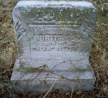 CAIN, BURTIS F. - Ross County, Ohio   BURTIS F. CAIN - Ohio Gravestone Photos