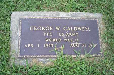 CALDWELL, GEORGE W. - Ross County, Ohio | GEORGE W. CALDWELL - Ohio Gravestone Photos
