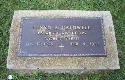 CALDWELL, LLOYD A. - Ross County, Ohio | LLOYD A. CALDWELL - Ohio Gravestone Photos