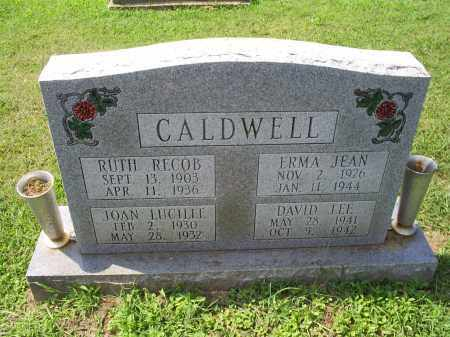 CALDWELL, JOAN LUCILLE - Ross County, Ohio | JOAN LUCILLE CALDWELL - Ohio Gravestone Photos