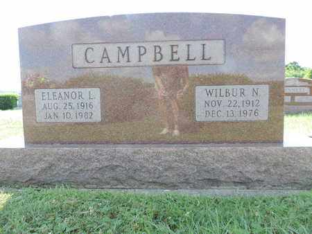 CAMPBELL, WILBUR N. - Ross County, Ohio | WILBUR N. CAMPBELL - Ohio Gravestone Photos
