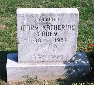 CAREY, MARY KATHERINE - Ross County, Ohio | MARY KATHERINE CAREY - Ohio Gravestone Photos