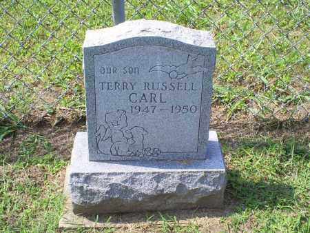 CARL, TERRY RUSSELL - Ross County, Ohio | TERRY RUSSELL CARL - Ohio Gravestone Photos