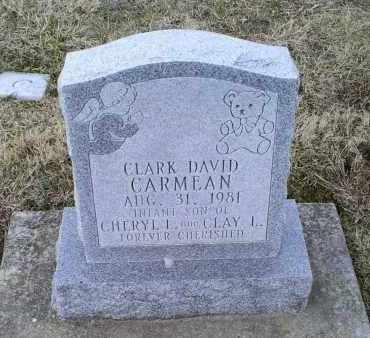 CARMEAN, CLARK DAVID - Ross County, Ohio | CLARK DAVID CARMEAN - Ohio Gravestone Photos