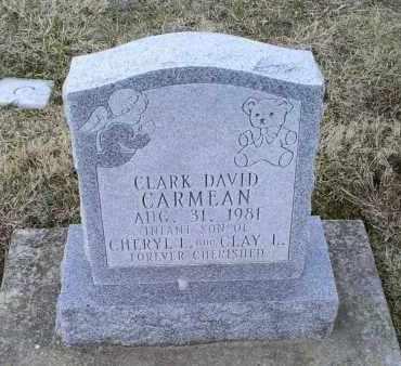 CARMEAN, CLARK DAVID - Ross County, Ohio | CLARK DAVID CARMEAN - Ohio Gravestone Photos