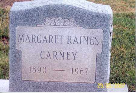 CARNEY, MARGARET - Ross County, Ohio | MARGARET CARNEY - Ohio Gravestone Photos