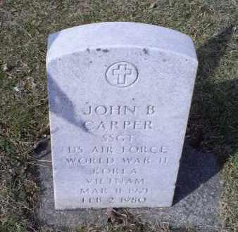 CARPER, JOHN B. - Ross County, Ohio   JOHN B. CARPER - Ohio Gravestone Photos