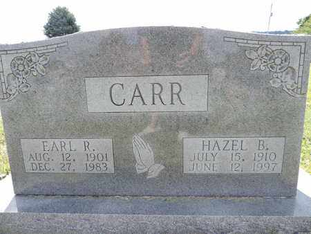 CARR, HAZEL B. - Ross County, Ohio | HAZEL B. CARR - Ohio Gravestone Photos