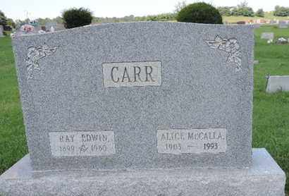 CARR, RAY EDWIN - Ross County, Ohio | RAY EDWIN CARR - Ohio Gravestone Photos