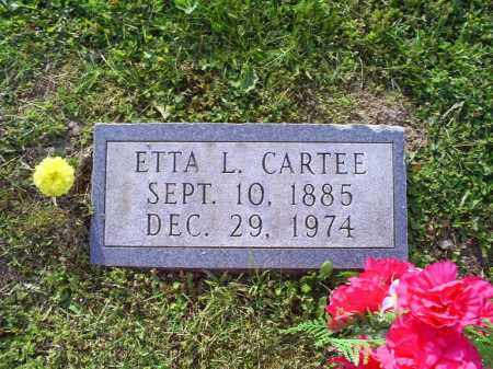 CARTEE, ETTA L. - Ross County, Ohio | ETTA L. CARTEE - Ohio Gravestone Photos