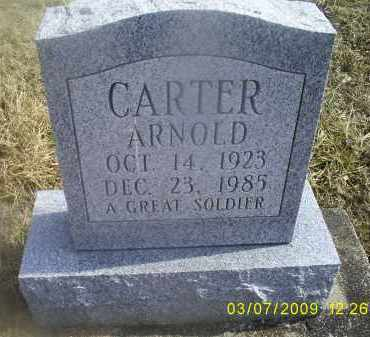 CARTER, ARNOLD - Ross County, Ohio | ARNOLD CARTER - Ohio Gravestone Photos