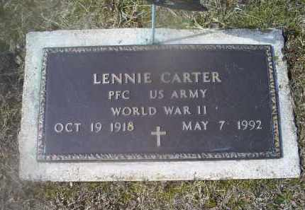 CARTER, LENNIE - Ross County, Ohio | LENNIE CARTER - Ohio Gravestone Photos