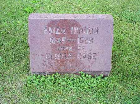 HINSON CASE, EMZA - Ross County, Ohio | EMZA HINSON CASE - Ohio Gravestone Photos