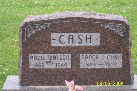WATSON CASH, ADDIE - Ross County, Ohio | ADDIE WATSON CASH - Ohio Gravestone Photos