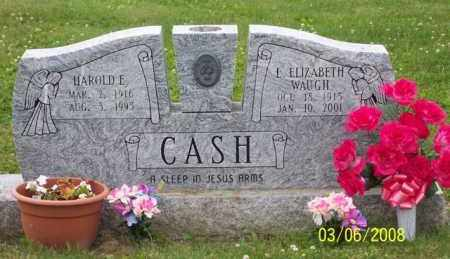 WAUGH CASH, L. ELIZABETH - Ross County, Ohio | L. ELIZABETH WAUGH CASH - Ohio Gravestone Photos