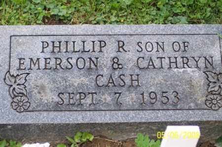 CASH, PHILLIP R. - Ross County, Ohio | PHILLIP R. CASH - Ohio Gravestone Photos