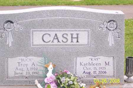 "CASH, KATHLEEN M. ""KAY"" - Ross County, Ohio 