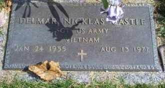 CASTLE, DELMAR NICKLAS - Ross County, Ohio   DELMAR NICKLAS CASTLE - Ohio Gravestone Photos