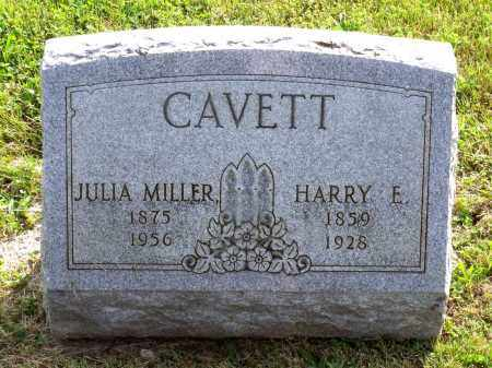 CAVETT, HARRY E. - Ross County, Ohio | HARRY E. CAVETT - Ohio Gravestone Photos