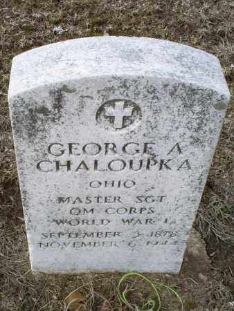 CHALOUPKA, GEORGE A. - Ross County, Ohio | GEORGE A. CHALOUPKA - Ohio Gravestone Photos