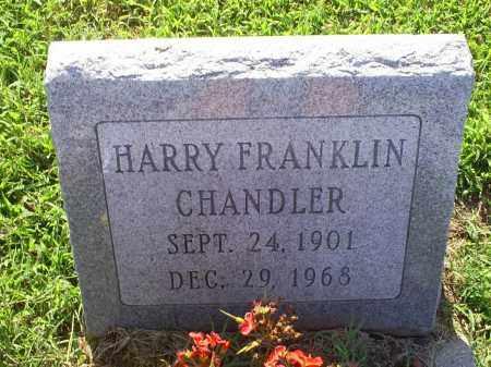 CHANDLER, HARRY FRANKLINE - Ross County, Ohio | HARRY FRANKLINE CHANDLER - Ohio Gravestone Photos