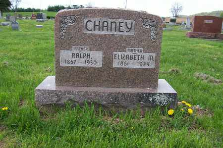 CHANEY, ELIZABETH - Ross County, Ohio | ELIZABETH CHANEY - Ohio Gravestone Photos