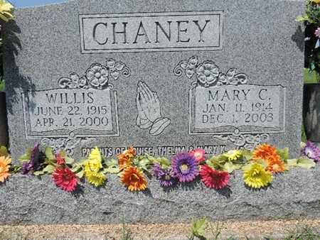 CHANEY, WILLIS - Ross County, Ohio | WILLIS CHANEY - Ohio Gravestone Photos