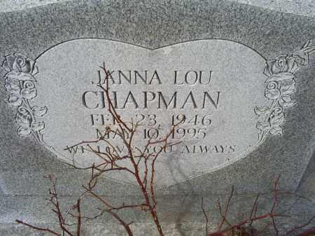 CHAPMAN, JANNA LOU - Ross County, Ohio | JANNA LOU CHAPMAN - Ohio Gravestone Photos