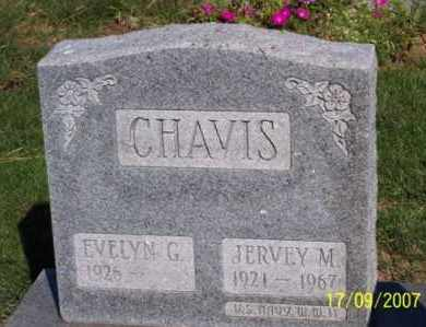 CHAVIS, JERVEY M. - Ross County, Ohio | JERVEY M. CHAVIS - Ohio Gravestone Photos
