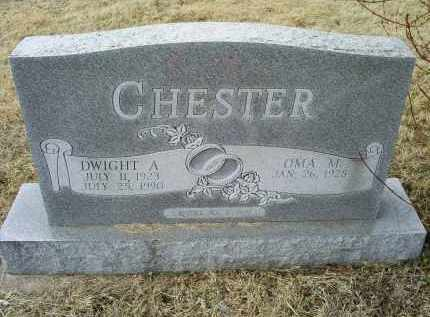 CHESTER, DWIGHT A. - Ross County, Ohio | DWIGHT A. CHESTER - Ohio Gravestone Photos