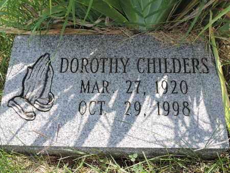 CHILDERS, DOROTHY - Ross County, Ohio | DOROTHY CHILDERS - Ohio Gravestone Photos