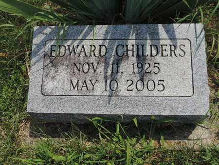 CHILDERS, EDWARD - Ross County, Ohio | EDWARD CHILDERS - Ohio Gravestone Photos
