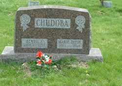 CHUDOBA, MARIE - Ross County, Ohio | MARIE CHUDOBA - Ohio Gravestone Photos
