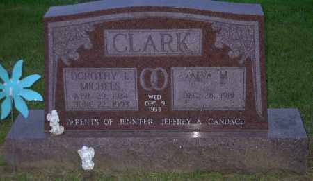 MICHELS CLARK, DOROTHY L. - Ross County, Ohio | DOROTHY L. MICHELS CLARK - Ohio Gravestone Photos