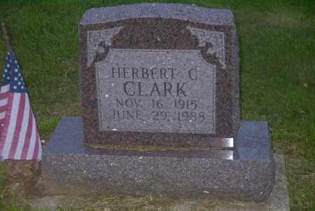 CLARK, HERBERT C. - Ross County, Ohio | HERBERT C. CLARK - Ohio Gravestone Photos