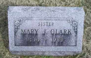 CLARK, MARY J. - Ross County, Ohio | MARY J. CLARK - Ohio Gravestone Photos