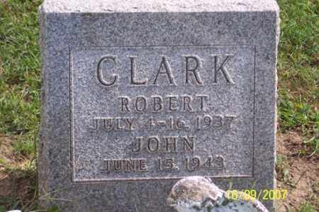 CLARK, ROBERT - Ross County, Ohio | ROBERT CLARK - Ohio Gravestone Photos