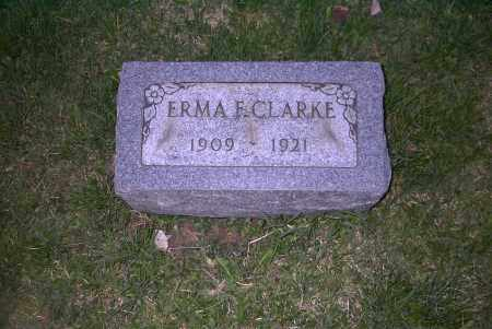 CLARKE, ERMA F. - Ross County, Ohio | ERMA F. CLARKE - Ohio Gravestone Photos