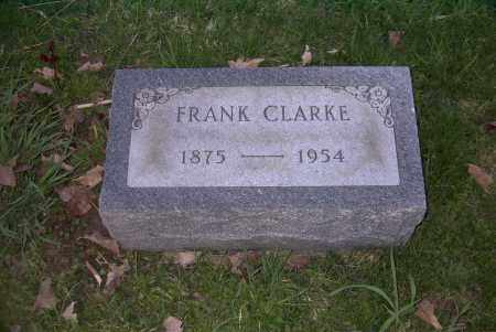 CLARKE, FRANK - Ross County, Ohio | FRANK CLARKE - Ohio Gravestone Photos
