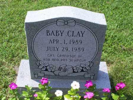 CLAY, BABY - Ross County, Ohio | BABY CLAY - Ohio Gravestone Photos