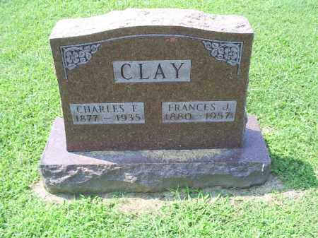 CLAY, CHARLES E. - Ross County, Ohio | CHARLES E. CLAY - Ohio Gravestone Photos