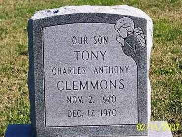 "CLEMMONS, CHARLES ANTHONY ""TONY"" - Ross County, Ohio 