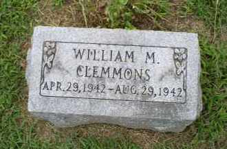 CLEMMONS, WILLIAM M. - Ross County, Ohio | WILLIAM M. CLEMMONS - Ohio Gravestone Photos