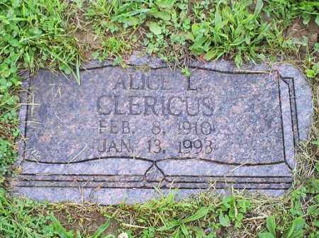 CLERICUS, ALICE L. - Ross County, Ohio | ALICE L. CLERICUS - Ohio Gravestone Photos