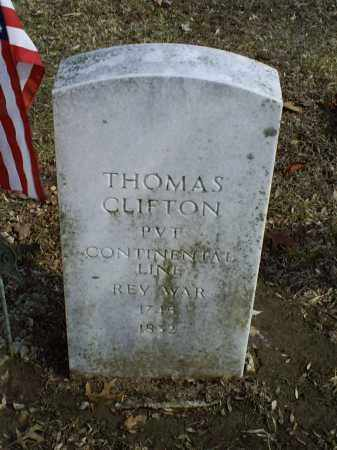 CLIFTON, THOMAS - Ross County, Ohio | THOMAS CLIFTON - Ohio Gravestone Photos