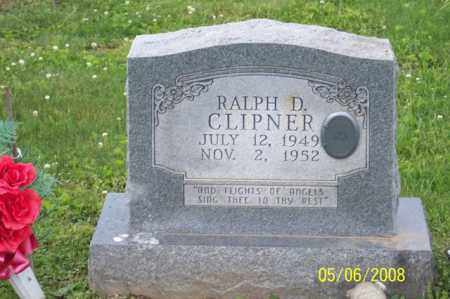 CLIPNER, RALPH D. - Ross County, Ohio   RALPH D. CLIPNER - Ohio Gravestone Photos