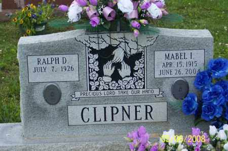 CLIPNER, MABEL I. - Ross County, Ohio | MABEL I. CLIPNER - Ohio Gravestone Photos