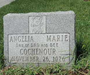 COCHENOUR, ANGELIA MARIE - Ross County, Ohio | ANGELIA MARIE COCHENOUR - Ohio Gravestone Photos
