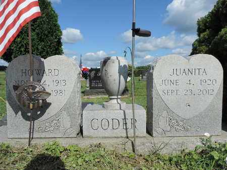 CODER, HOWARD - Ross County, Ohio | HOWARD CODER - Ohio Gravestone Photos